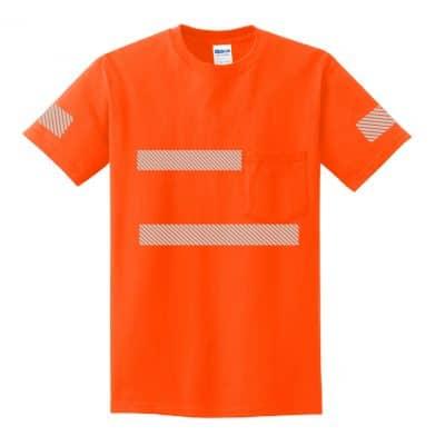 High-Visibility SS Pocket Orange Front
