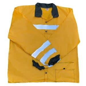 D-Ring Slicker Jacket Front