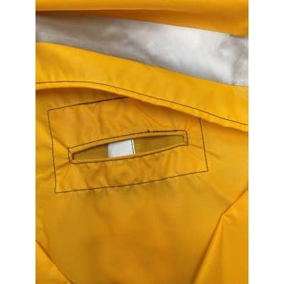 D-Ring Slicker Jacket Harness Entry
