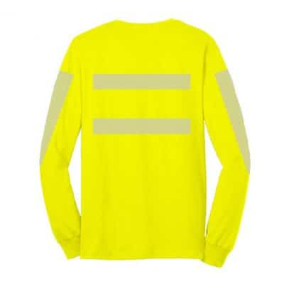 High-Visibility LS Green Back