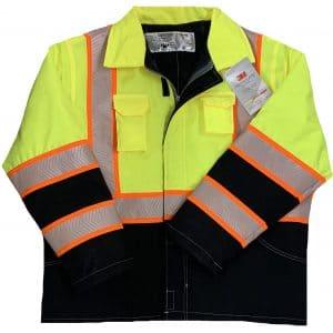 Safetyline Super Jacket Yellow Front