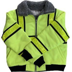 Safetyline Flight Jacket Yellow Front