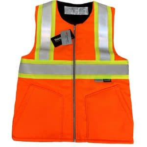 Safetyline Heavy Liner/Vest Orange Front