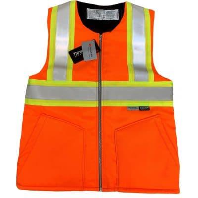 Safetyline Heavy Liner/Vest Orange Front