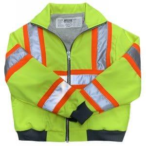 Safetyline Simple Sweatshirt Yellow Front