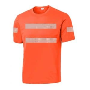 High-Visibility SS Performance Orange Front
