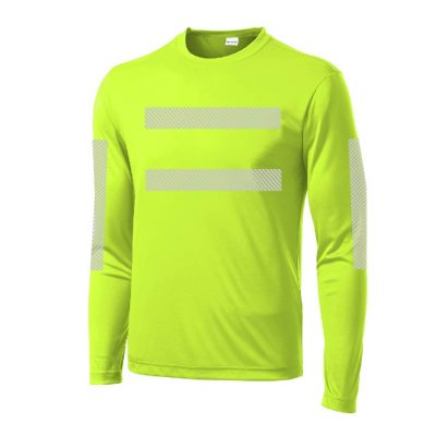 High-Visibility LS Performance Yellow Front