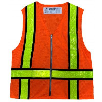 Safetyline Personal Mesh Vest Orange Front