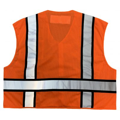 Safetyline PSV Breakaway Vest Orange Back