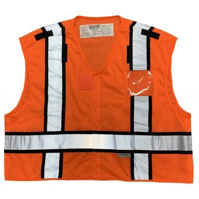 Safetyline PSV Breakaway Vest Orange Front