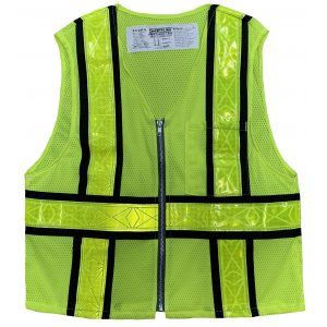 Safetyline Personal Mesh Vest Yellow Front
