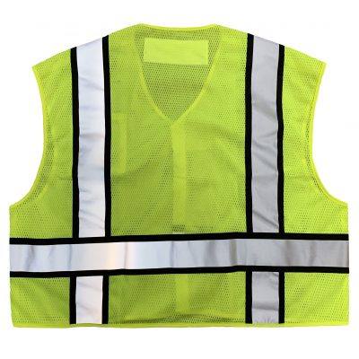 Safetyline PSV Breakaway Vest Yellow Back