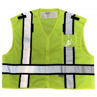 Safetyline PSV Breakaway Vest Yellow Front