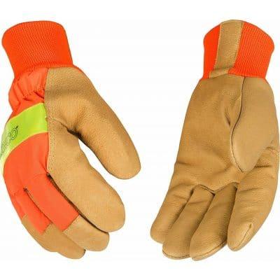 Waterproof Lined Pigskin Gloves 2