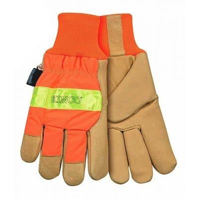 Waterproof Lined Pigskin Gloves